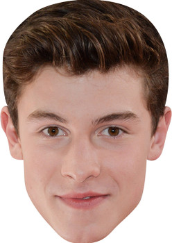 Shawn Mendes MH 2017  Music Celebrity Face Mask