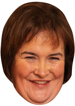 Susan Boyle 2014 2017  Music Celebrity Face Mask