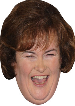 Susan Boyle Mint 2017 Music Celebrity Face Mask