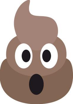 Poo Emoji Kids Celebrity Face Mask