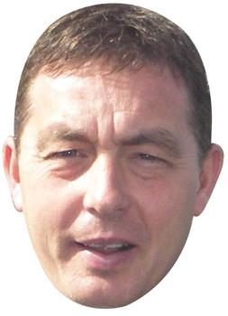 Billy Davies Sports Celebrity Face Mask