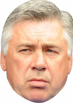 Carlo Ancelotti Sports Celebrity Face Mask
