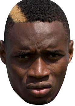 Diafra Sakho Large Sports Celebrity Face Mask