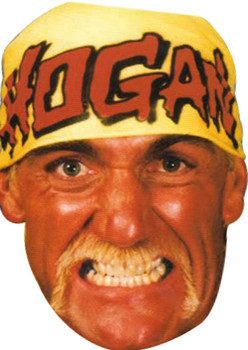 Hulk Hogan Sports Celebrity Face Mask