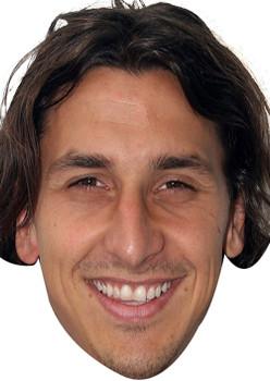 Zlatan Ibrahimovic 2017  Sports Celebrity Face Mask