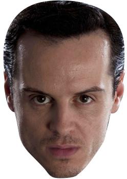 Andrew Scott Aka Moriarty In Bbc Sherlock Tv Celebrity Face Mask