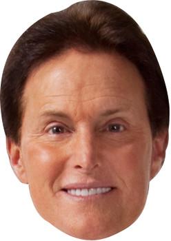 Bruce Jenner Tv Celebrity Face Mask