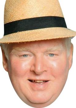 Donald Stewart Swinger Benidorm Tv Celebrity Face Mask