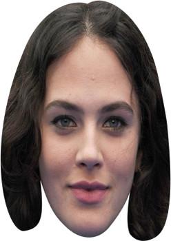 Jessica Brown Findlay Tv Celebrity Face Mask