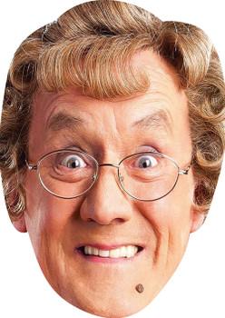 Mrs Brown MH 2017 Tv Celebrity Face Mask