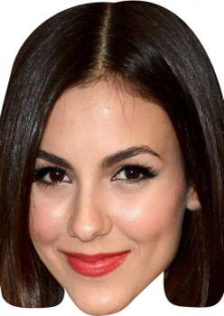 Victoria Justice MH 2017 Tv Celebrity Face Mask