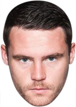 Aaron Dingle Emmerdale Celebrity Party Face Mask