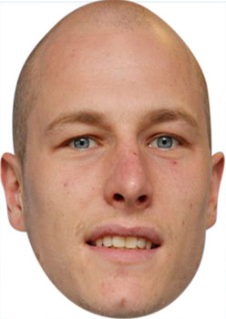 Aaron Mooy Celebrity Party Face Mask