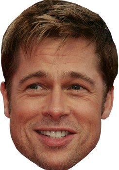Bradd Pitt Movie Celebrity Party Face Mask
