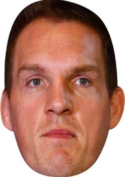 Gareth Jenkins Celebrity Party Face Mask