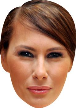 Melania Trump (2) Celebrity Party Face Mask