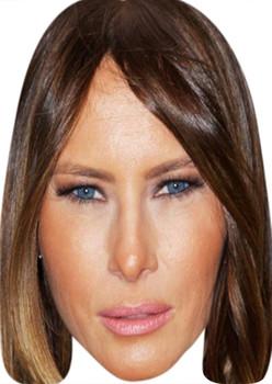 Melania Trump Celebrity Party Face Mask