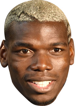 Paul Pogba 2017 Celebrity Party Face Mask