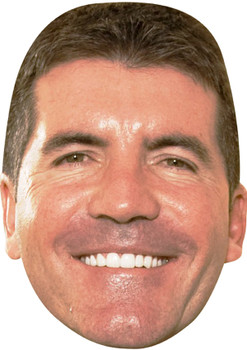 Simon Cowell X Factor Celebrity Party Face Mask