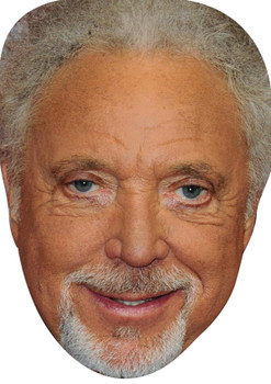 Tom Jones 2015 Celebrity Party Face Mask