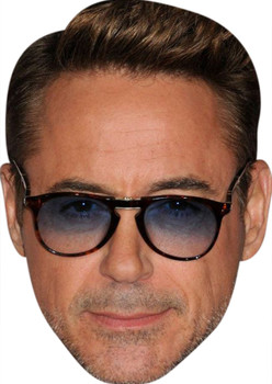 Tony Stark Celebrity Party Face Mask