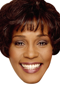 Whitney Houston Young Celebrity Party Face Mask