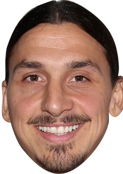 Zlatan Ibrahimovic Footballer Celebrity Party Face Mask