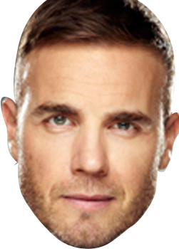 Gary Barlow X Factor Face Mask