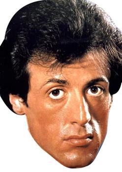 Young Rocky Balboa Face Mask