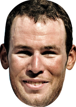 Mark Cavendish Olympic Racing Celebrity Mask