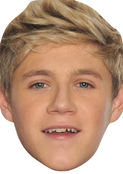 Niall Horan One Direction Celebrity Face Mask 2012
