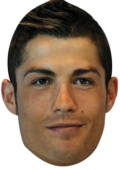 Christiano Ronaldo Real Madrid Face Mask