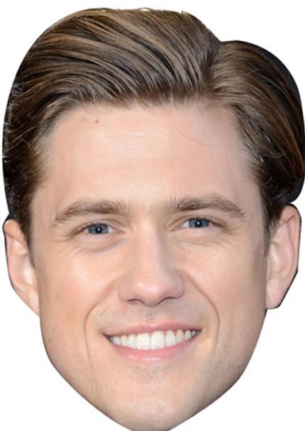 Aaron Tveit Celebrity Face Mask