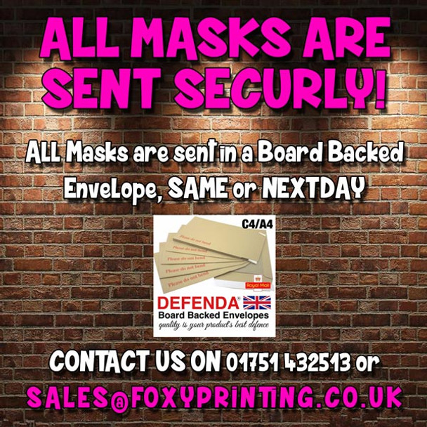 Aaron Chalmers 2015 Celebrity Face Mask