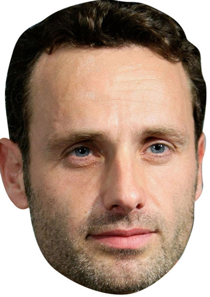 Andrew Lincoln Walking Dead 2015 Celebrity Face Mask