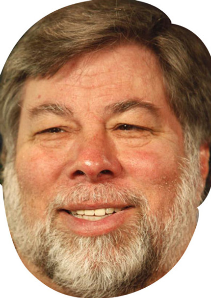 Steve Wozniak Movies Stars 2015 Celebrity Face Mask