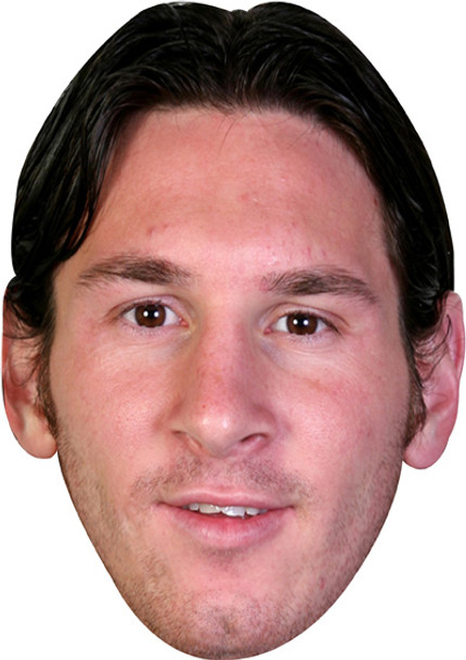 Messi Barcelona Footballer Celebrity Face Mask