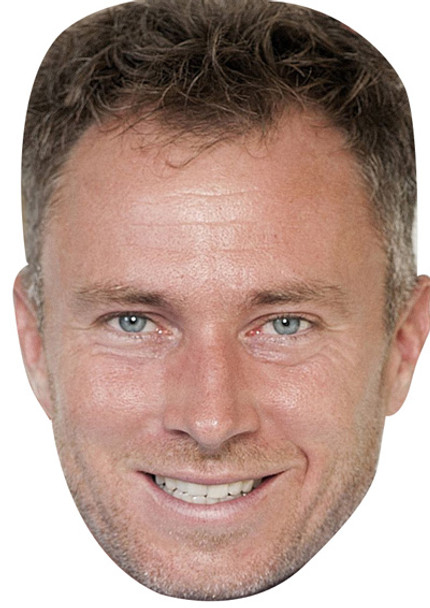 James Jordan Celebrity Face Mask