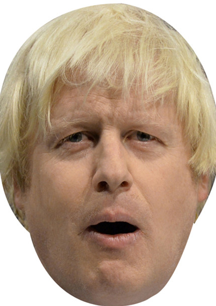Boris Johnson Uk Politician Face Mask
