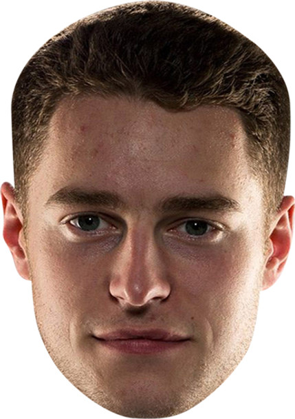 Stoffel Vandoorne Celebrity Face Mask