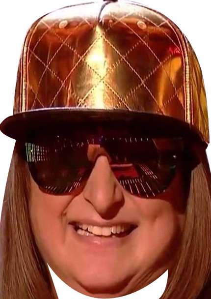 Honey G Gold Hat X Factor Celebrity Party Mask