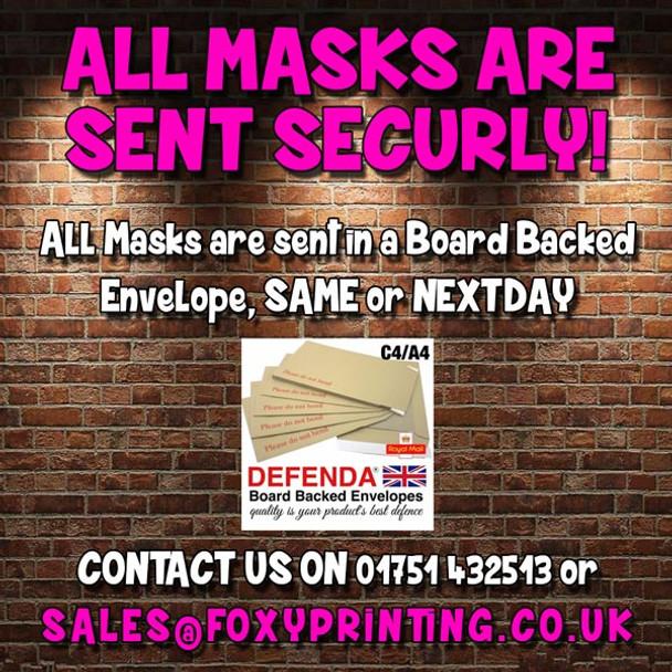Shane Meadows MH 2017 Celebrity Face Mask