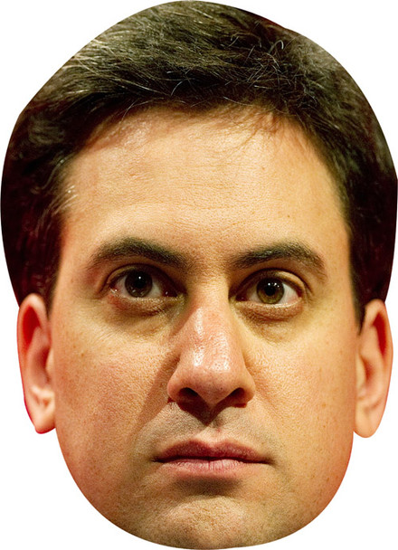Ed Miliband New 2017 Face Mask