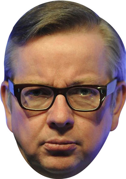 Michael Gove Politican New 2017 Face Mask