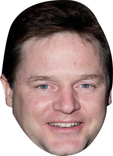 Nick Clegg (2) New 2017 Face Mask