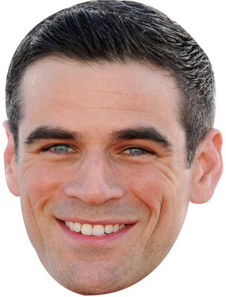 Eddie Cahill Sports Celebrity Face Mask