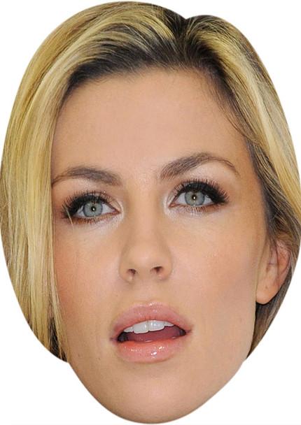 Abigail Clancy MH 2017 Tv Celebrity Face Mask