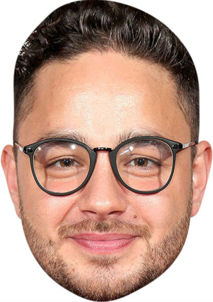 Adam Thomas MH 2017 Tv Celebrity Face Mask