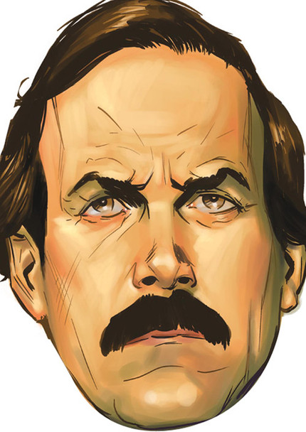 Fawlty Final Tv Celebrity Face Mask