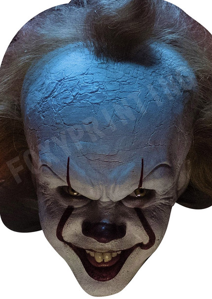 Pennywise Horror Clown Halloween Mask Celebrity Movie Film Face